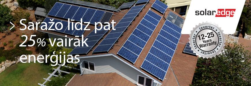 SolarEdge tehnoloģija